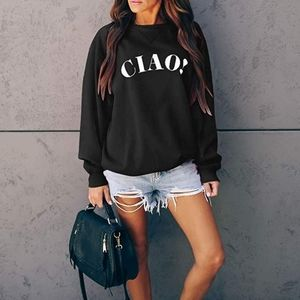 """New """"CIAO!"""" Bye, see you later Sweatshirt top"""